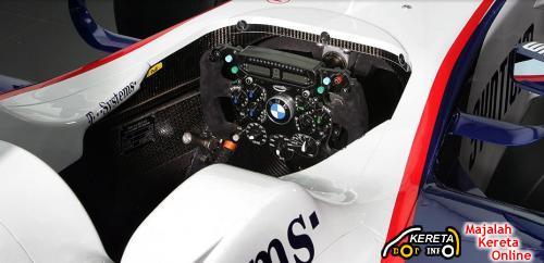 BMW F1 Team Cockpit