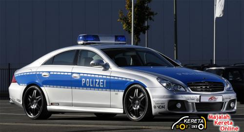 Brabus CLS Police