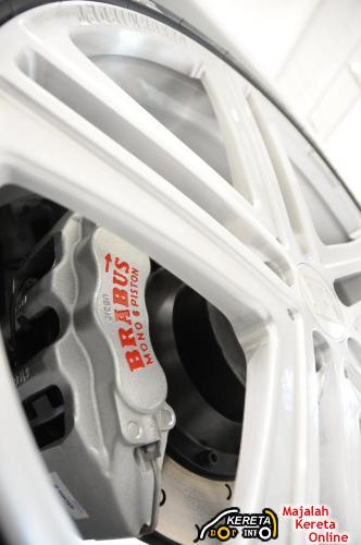 Brabus GLK V8 brakes