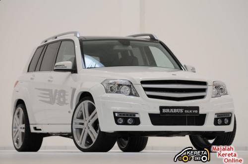 Brabus GLK V8 Frt