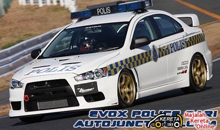 Evo X Police Track
