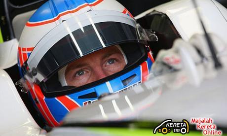 F1 Driver Jenson Button