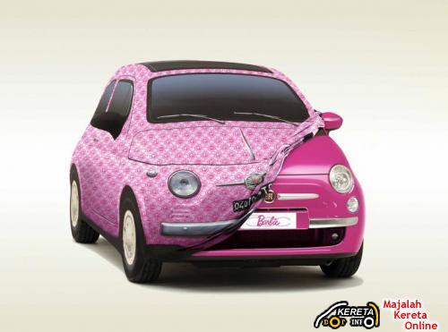 Fiat 500 Barbie 2009 1
