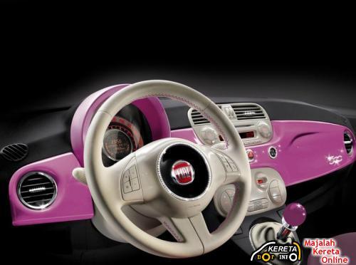 Fiat 500 Barbie 2009 2