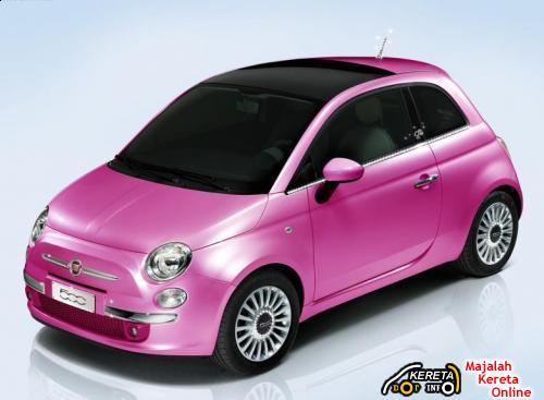 Fiat 500 Barbie 2009