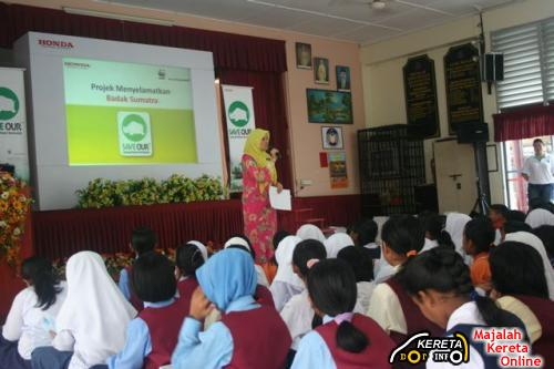 HONDA MALAYSIA PUT SOME EFFORT ON GIVING TIPS ABOUT ENVIRONMENTAL RESPONSIBILITY