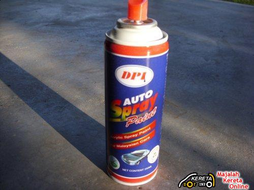 CAR TIPS : HOW TO SPRAY YOUR CAR PROPERLY WITH SPRAY CAN