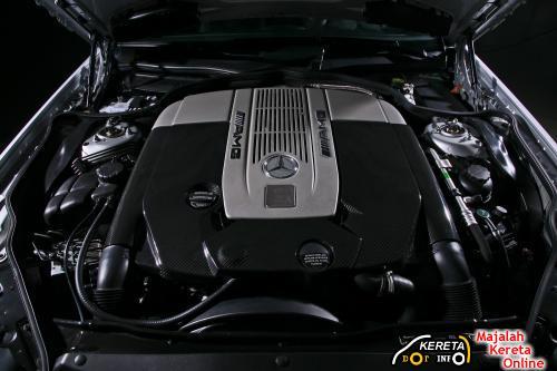 Inden Design SL 65 AMG engine 65