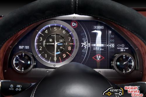Infiniti essence gauge