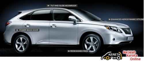 ALL NEW LEXUS RX350 SPECIFICATION - LUXURY SUV