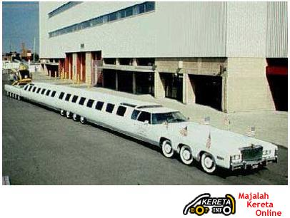 THE LONGEST CAR IN THE WORLD?