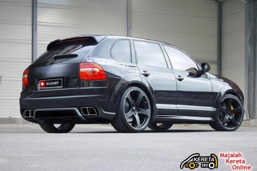 Mansory Cayenne rear4