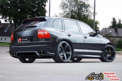Mansory Cayenne rear5