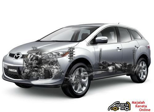 Mazda CX-7 facelift diagram