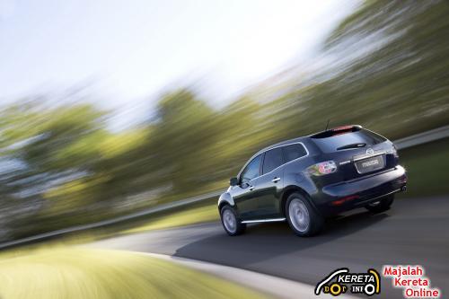 Mazda CX-7 facelift rearss