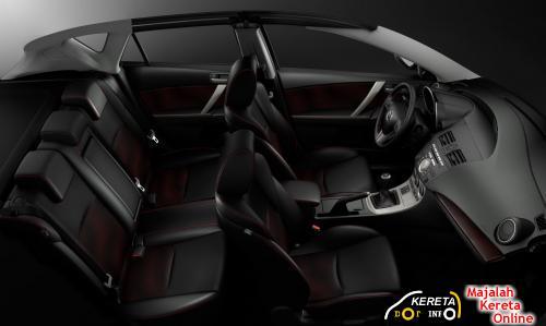 Mazdaspeed MPS interior