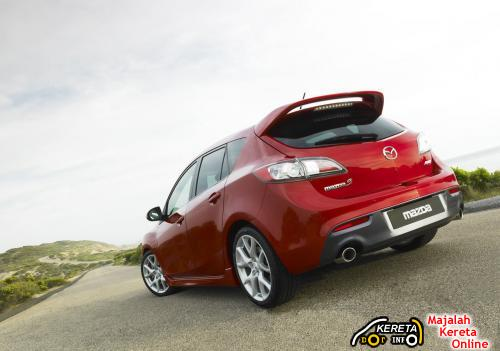 Mazdaspeed MPS rear3