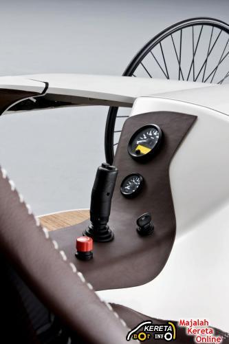mercedes benz f-cell roadster concept joystick