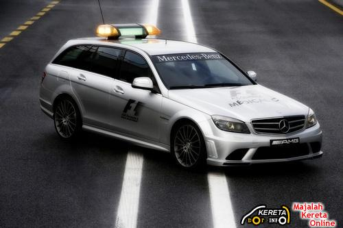 MERCEDES SL 63 AMG AS OFFICIAL SAFETY CARS & MEDICAL CARS IN 2009 FORMULA ONE