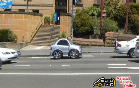 Mini Mercedes