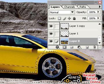 mini sportscar photoshop 1