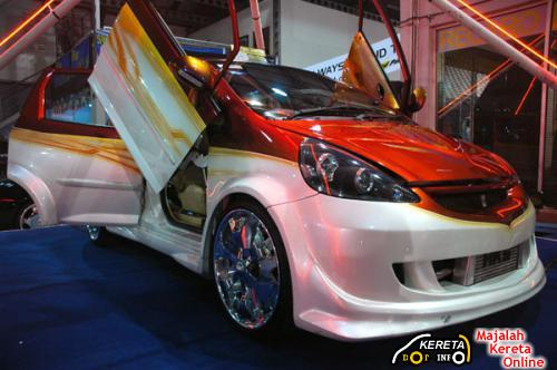 modified honda jazz bodykit style