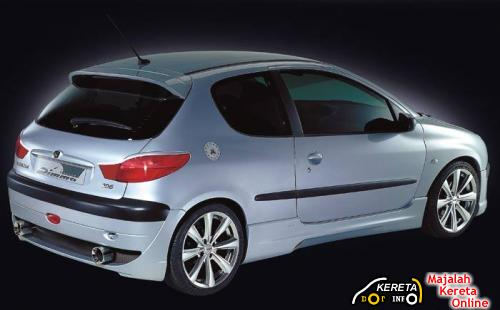 Modified Peugeot 206 3