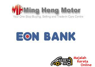 MUCH BENEFIT FROM FIRST AUTO DEALER CREDIT CARD BY MING HENG EON BANK