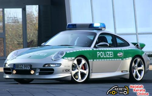 Porsche Carrera Police