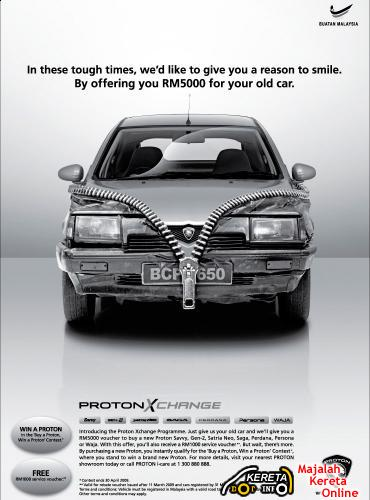 PROTON XCHANGE PROGRAM AVAILABLE IN SABAH - BUY NEW PROTON TRADE IN OLD CARS