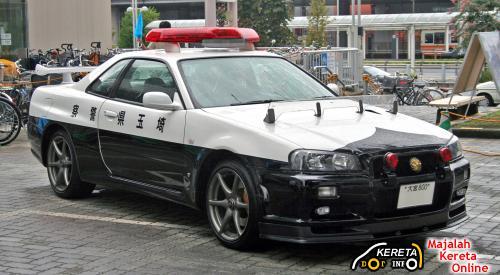 Skyline GTR Police