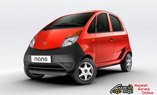 Tata Nano Red Front