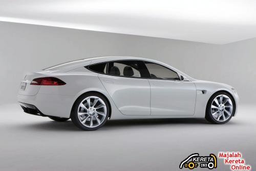 Tesla Model S Side