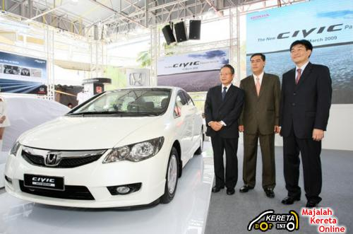 THE NEW ENHANCED 8TH GENERATION HONDA CIVIC LAUNCHED - NEW FACELIFTED CIVIC SPECIFICATION