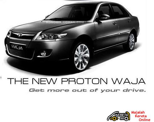 THE UPCOMING PICTURE OF PROTON NEW WAJA FACELIFTED EDITION? GAMBAR WAJA BARU?