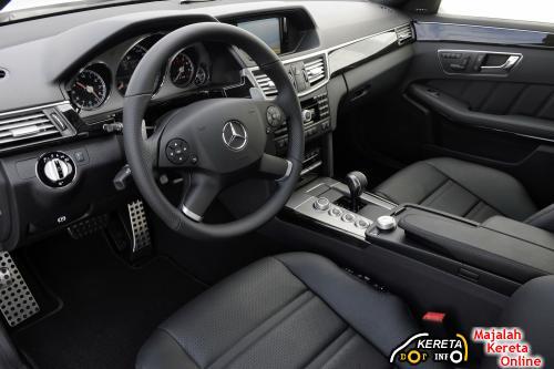 2010 E63 AMG DASHBOARD