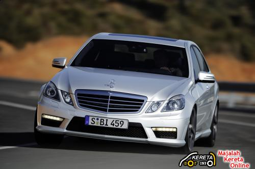 2010 E63 AMG FRONT
