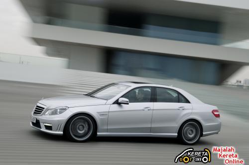 2010 E63 AMG SIDE