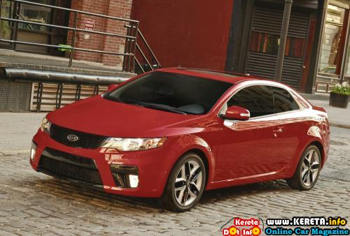 Kia Motors America (KMA) today globally debuted the 2010 Kia Forte Koup