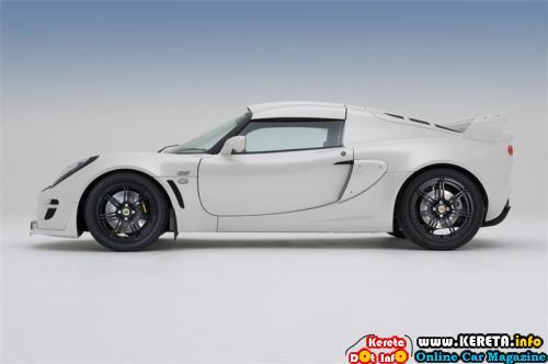 2010 Lotus Exige Sides