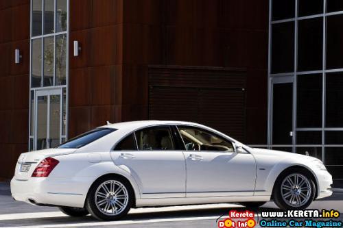 2010 Mercedes S-Class REAR22
