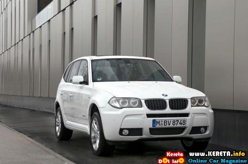 BMW X3 Xdrive18d front 3