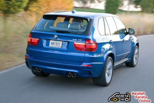 BMW X5 M Rear
