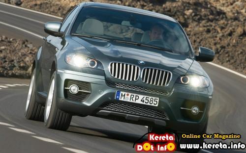 BMW X6 GREY Front