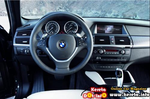 BMW X6 Grey Interior