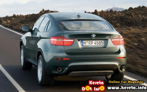 BMW X6 GREY REAR
