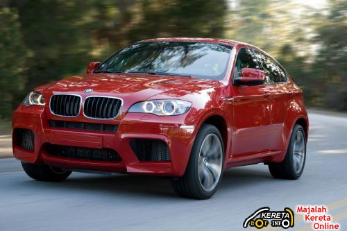 BMW X6 M Front