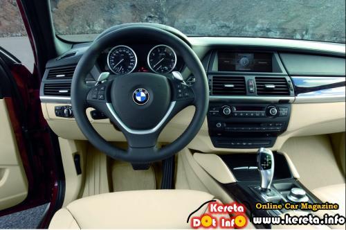 BMW X6 RED Interior