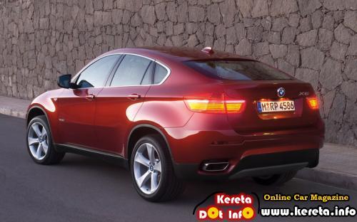 BMW X6 RED Rear