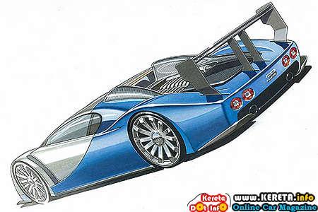 Bugatti Project Lydia Rear